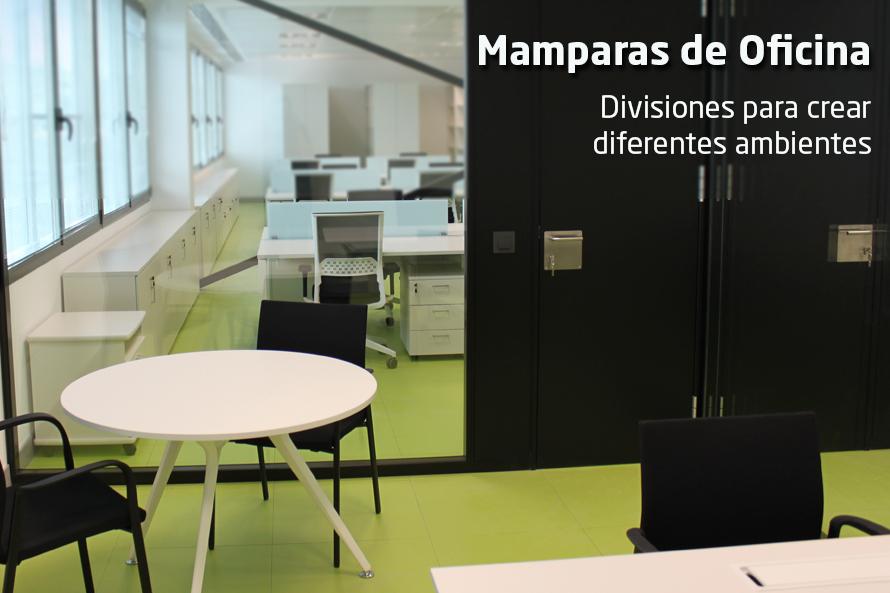Mampara de oficina divisiones equone for Divisiones de oficina
