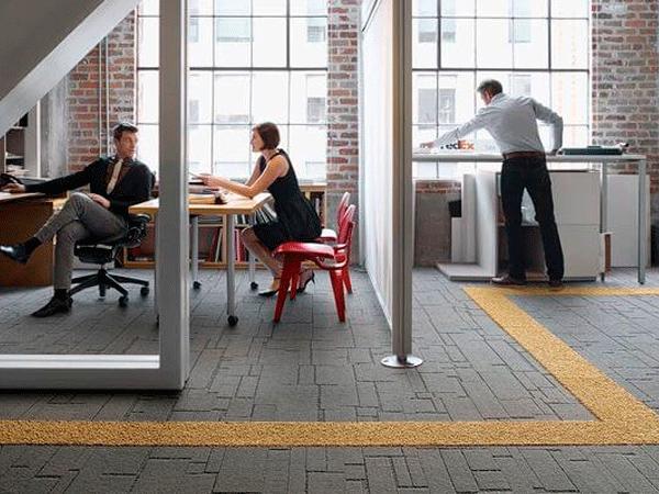 Moquetas para suelos de oficina equone - Suelo de moqueta ...