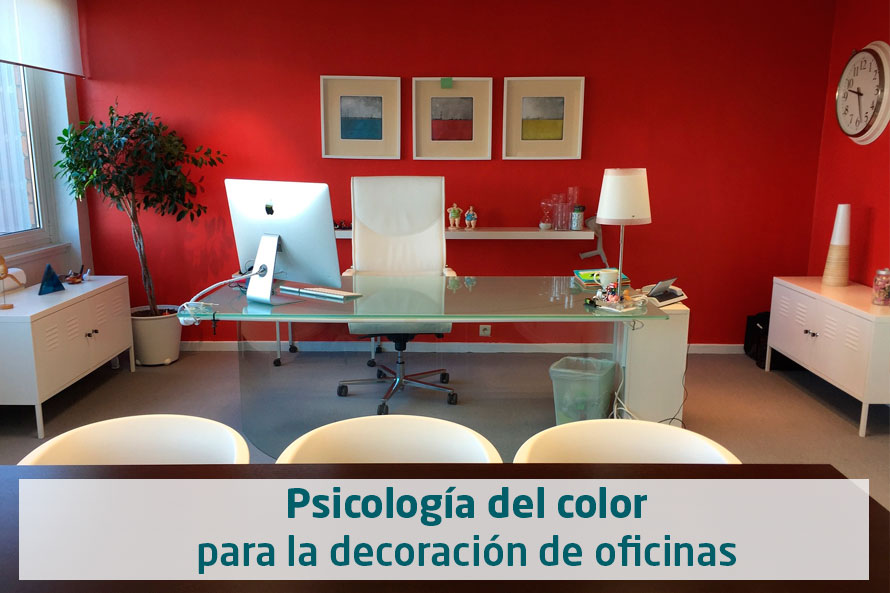Psicolog a del color oficina equone for Estudiar decoracion de interiores a distancia