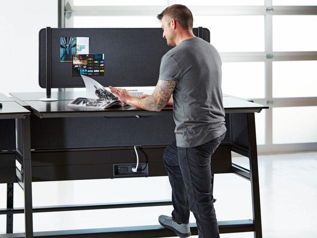 tipos de mesa de oficina