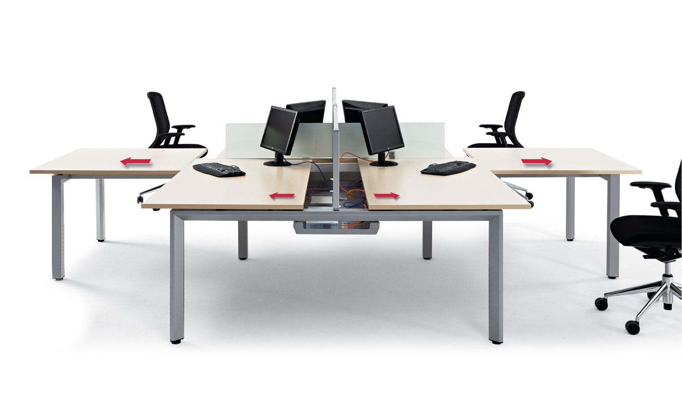 mesas de oficina amplias