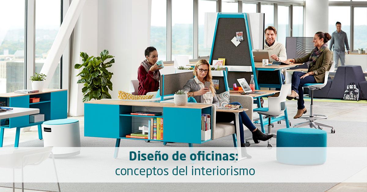 Diseño de oficinas: conceptos del interiorismo » Equone